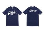 【kids用】 紺×白 CONKS GROUP オリジナルTシャツ