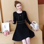 【dress】Fashion design slim elegant chic date dress