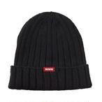 NIT CAP -BLACK-