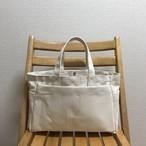 (受注生産)「ボックストート」ミニサイズ 「生成り」帆布トートバッグ 倉敷帆布8号