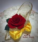 プリンセスの靴 『ベルと赤いバラ』❤︎リングピローにも❤︎