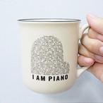 【マグカップ】オリジナルマグカップ「I AM PIANO」
