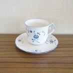 ニッコー社・ビレロイボッホ エーデルブルーメのコーヒー用カップ&ソーサー