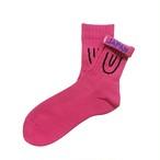 """""""Symbol Short -pink-"""" Socks"""