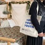 キャンバス トートバッグ  youth 2型