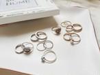 予約注文商品 エスニックリング7点set 指輪 リング アクセ アクセサリー 韓国ファッション