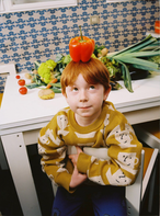 【Bobo Choses】Cup Of Tea All Over knitted jumper