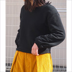 【hippiness】tuck longsleeve tops(sweat)/【ヒッピネス】タック ロングスリーブ トップス(スウェット)
