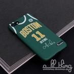 「NBA」ボストン セルティックス 2018-19シーズン アーンドエディション ジャージ カイリーアービング サイン入り iPhoneX iPhone8 ケース