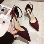 【shoes】お洒落上級者3色パンプス