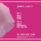 """【予約/12""""】Javonntte - Flight 77"""