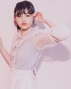 ♡SALE♡【Lilien Room】Polka Dot Tulle Blouse