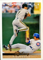 MLBカード 93UPPERDECK Jeff King #240 PIRATES