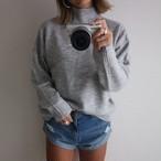 medium neck simple knit