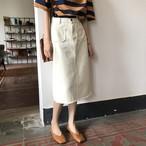 無地 スカート シンプル ベーシック【15861】