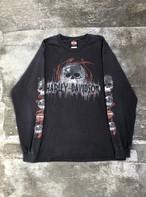 USED / Harley-Davidson skull pattern L/S