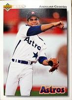 MLBカード 92UPPERDECK Andujar Cedeno #257 ASTROS