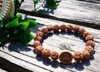 Spirit bracelet  OM for YOGI  ~Rudraksha,OM~