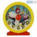 マクドナルド グッドモーニング・ロナルド 時計のおもちゃ