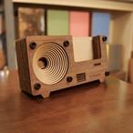 iPhone Speaker Stand ツートンカラー(電源不要♪木製スピーカースタンド)