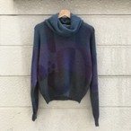 """antonella ore"" Ladies' Mohair Turtleneck Sweater"