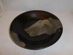 富士山盆 lacquer ware plate(Mt.Fuji)