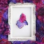 『最愛』魅惑の炎 no,7|赤と紫のゆれるアートピアス