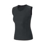 GORE(ゴア) ウィメンズ BASE LAYER SLEEVELESS SHIRT M ベース レイヤー スリーブレス シャツ  BLACK(ブラック)1000179900