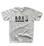 B.O.K T-shirt -grey & black ver.-