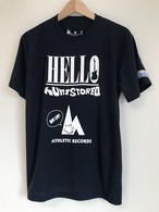 hs-33 ACTIVE 『HELLO』 T-SHIRT ・ネイビー