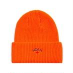 Core Logo Beanie(Safety Orange)