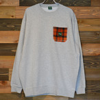 "HOTLINK ""CREWNECK SWEAT"" GRAY"