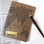 FLIGHT&TRAVEL LOGBOOK(World Map)