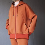 【hippiness】cutting parka(brown)/【ヒッピネス】カッティングパーカー(ブラウン)