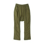 CROPPED EASY PANTS -KHAKI
