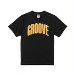 GrooveT(BLACK)  Yellow Groove Logo