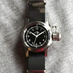 Naval military watch Mil.-04 SV/Cam US MARINE USN BUSHIPS  type