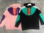 MAカラーアノラック アノラック フードトレーナー 韓国ファッション