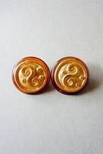 70s vintage earrings made in germany