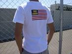 THREEARROWS FLAG ポケット付きTシャツ(white)