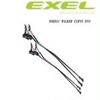 EXEL exel エクセル NORDIC WALKER CURVE EVO ノルディックウォーキング NWR15082J