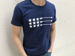 USA ArrowFlag Tシャツ(navy)