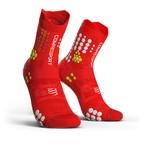 COMPRESSPORT コンプレスポーツ Pro Racing Socks v3.0 Trail プロレーシング ソックス V3.0 トレイル RED/WHITE