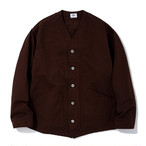 "Just Right ""Engineers Jacket Chino Cloth"" Brown"