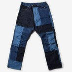 MMA 7pkt Stretch Patchwork Denim Jeans