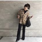 【再々入荷】タータンチェックオーバーシャツ