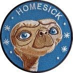 "labarbuda""E.T. FAN ART HOMESICK PATCH """