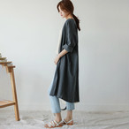 【アウター】ファッション切り替え無地23873944