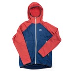 UN2100 Light weight fleece hoody / Navy : Red