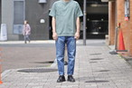 【ORDINARY FITS】5POCKET ANKLE DENIM used NEW 3year